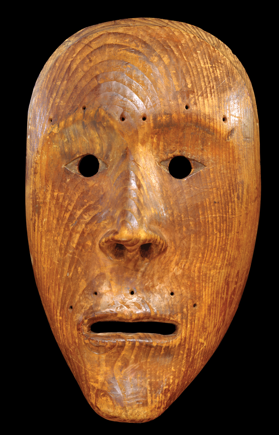 Inuit Anthropomorphic Face Mask