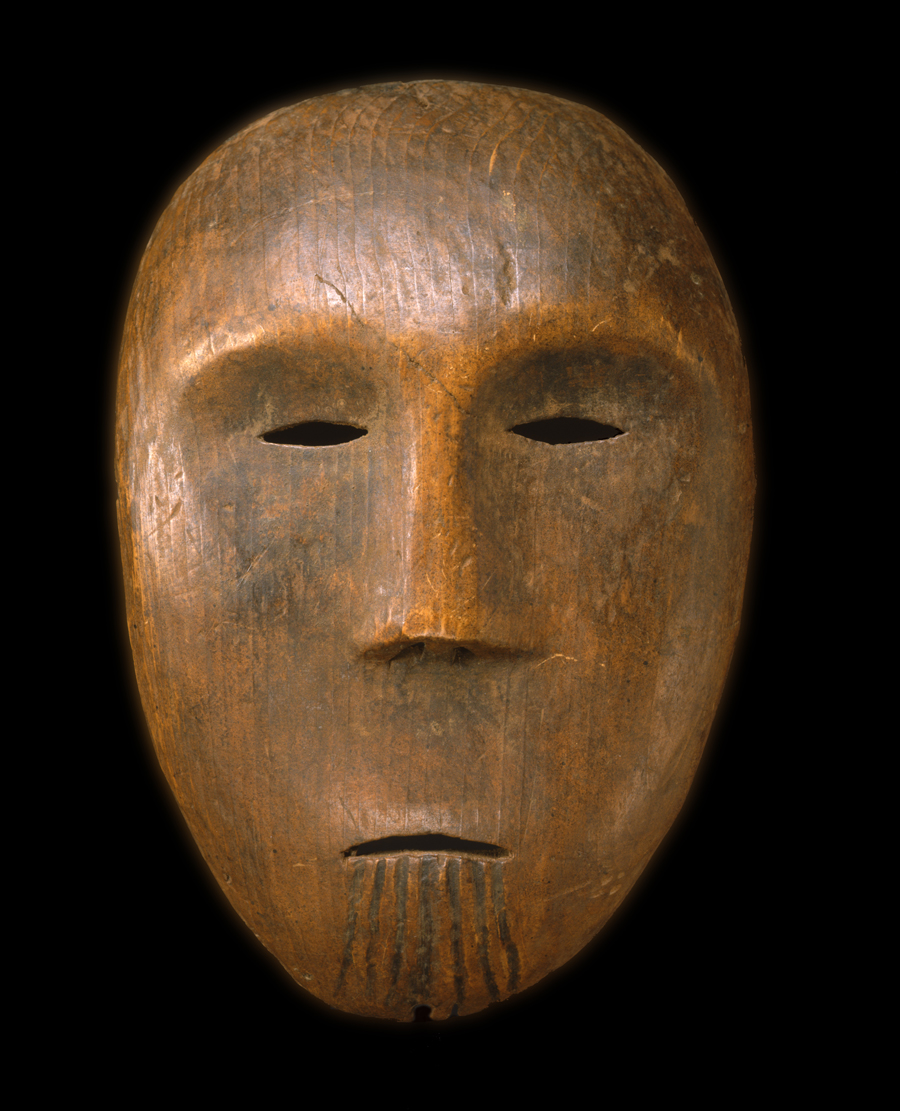 Inuit or Inupiat Anthropomorphic Face Mask