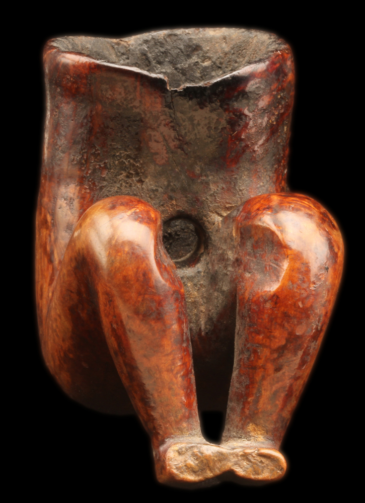 Female Effigy Pipe