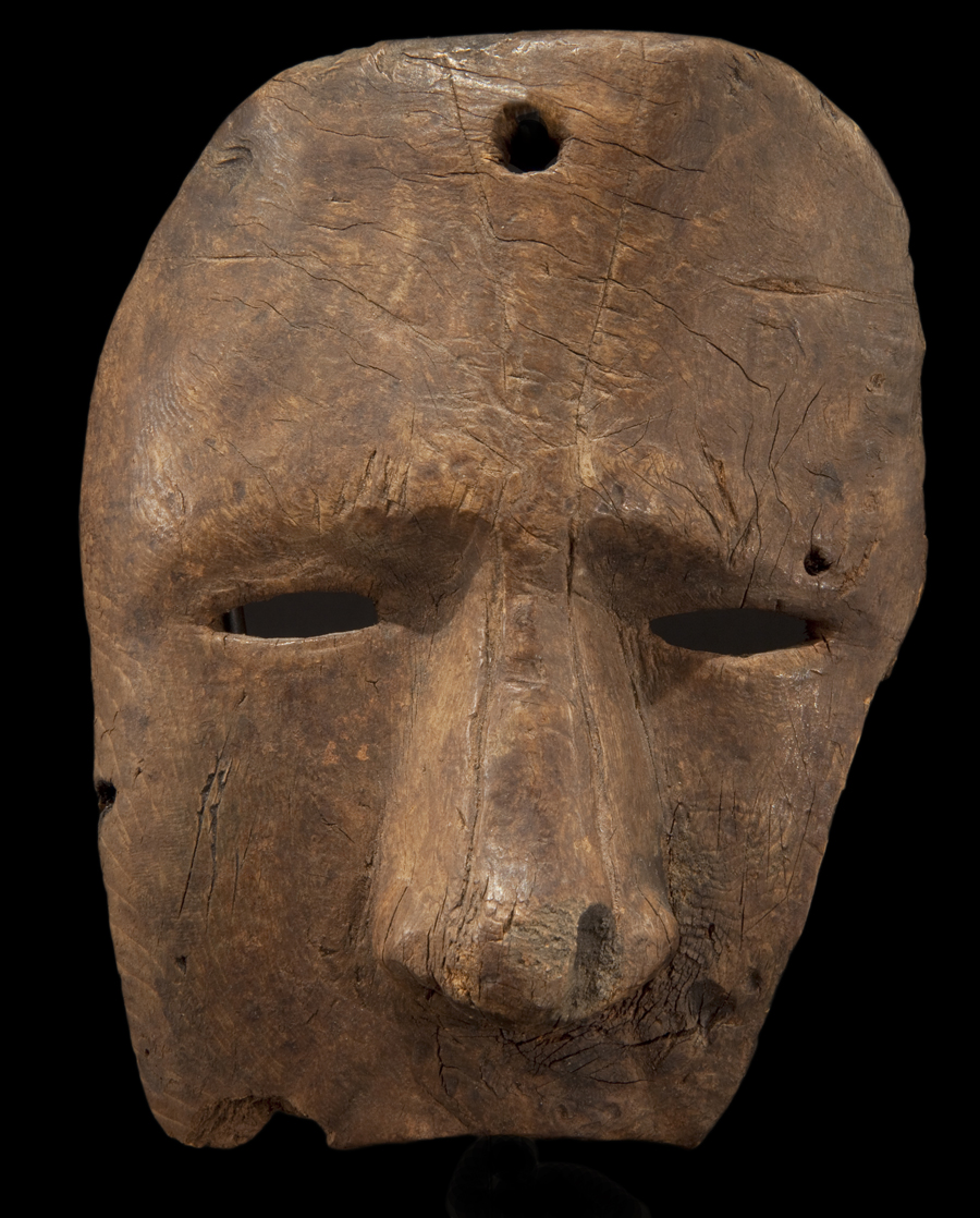 Inuit Fragmentary Anthropomorphic Face Mask