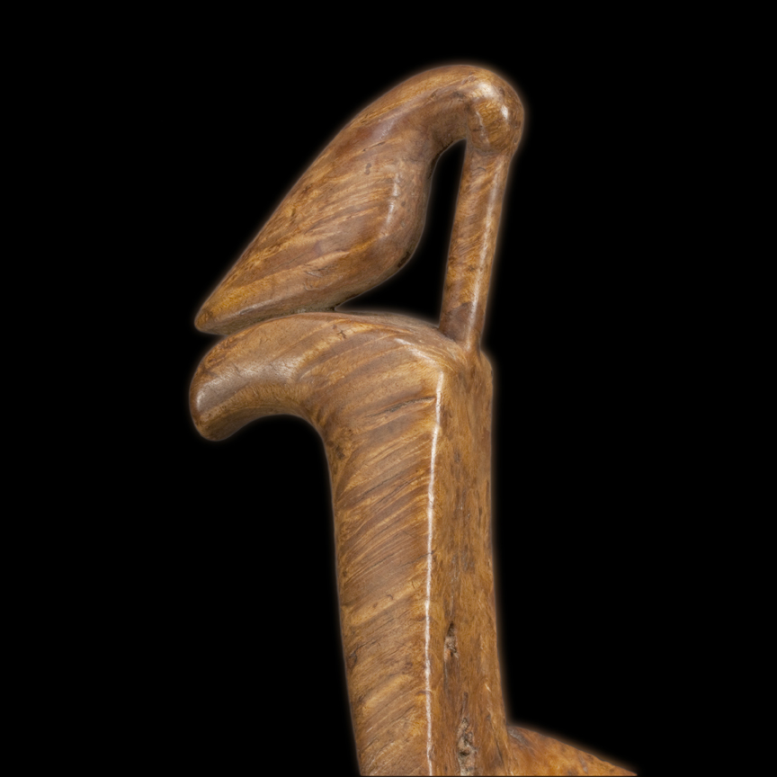 Woodcock Effigy Ladle (detail)