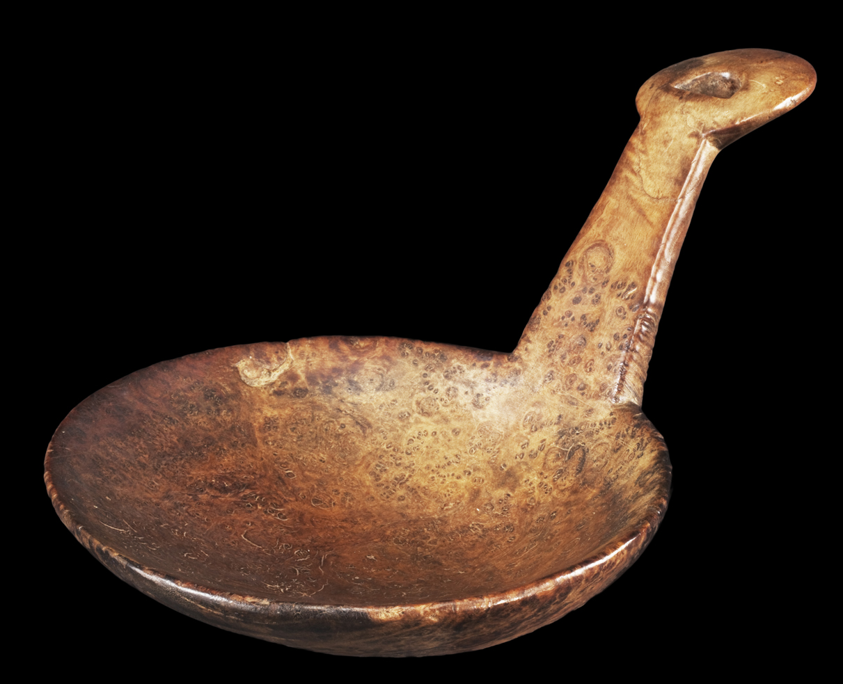 Effigy Feast Ladle with Manitou Eye