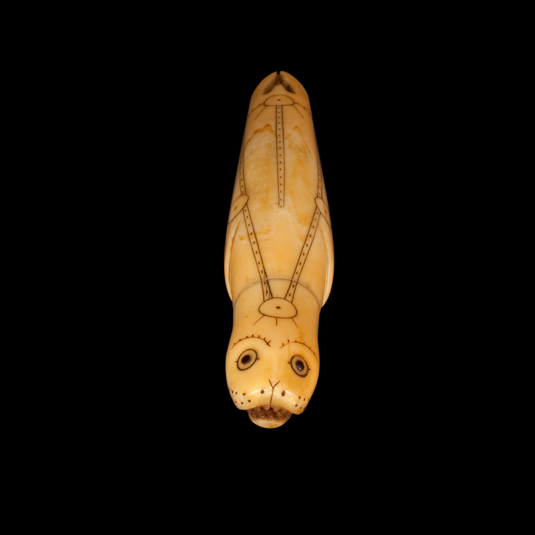 Inuit Needle Case in the form of a Seal